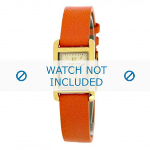 Horlogeband Michael Kors MK2270 Leder Oranje 14mm