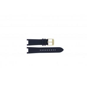 Horlogeband Michael Kors MK2280 Leder Blauw 12mm