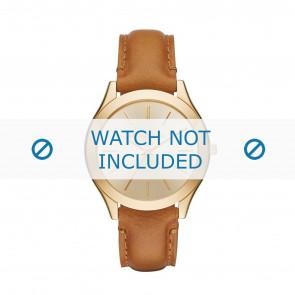 Horlogeband Michael Kors MK2465 Leder Cognac 20mm