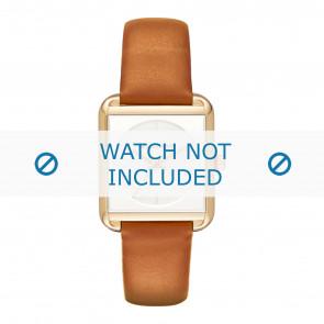 Michael Kors horlogeband MK2584 Leder Cognac 20mm