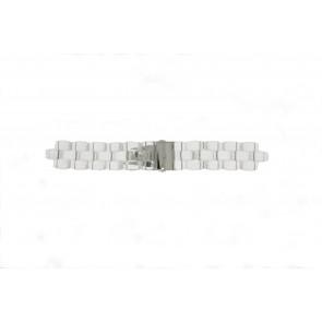 Michael Kors horlogeband MK5235 Kunststof / Plastic Transparant 22mm