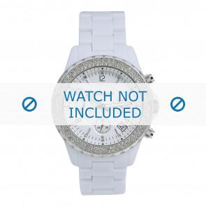 Michael Kors horlogeband + kast MK5300 Roestvrij staal (RVS) Wit