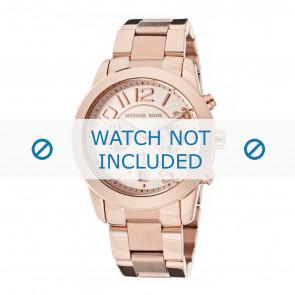Michael Kors horlogeband MK5727 Staal Rosé