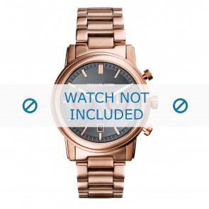 Michael Kors horlogeband MK8370 Staal Rosé