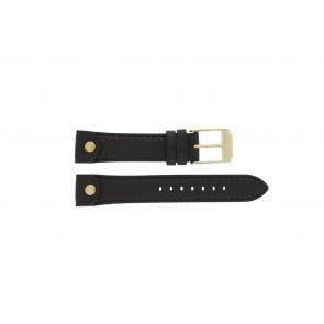 Horlogeband Michael Kors MK2166 Leder Bruin 18mm