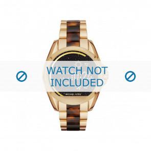Michael Kors horlogeband MKT5003 Kunststof / Plastic Multicolor 22mm