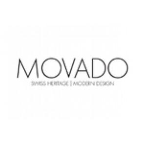 Horlogeband Movado 87-40-882N Leder Zwart