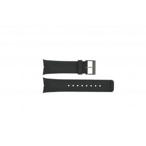 Horlogeband Nautica A15649G / N13530G / A34001G / A13530G / N13530G Rubber Zwart 20mm