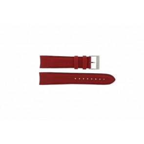 Nautica horlogeband A24515G / N16532 Leder Rood 22mm
