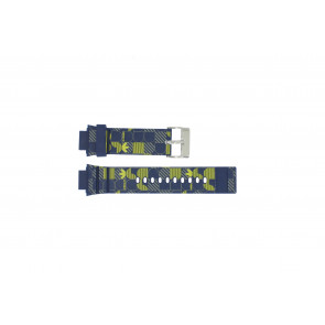 Adidas horlogeband ADH6106 Rubber Blauw 16mm