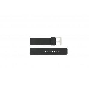 Michael Kors horlogeband MK-5048 Rubber Zwart 22mm