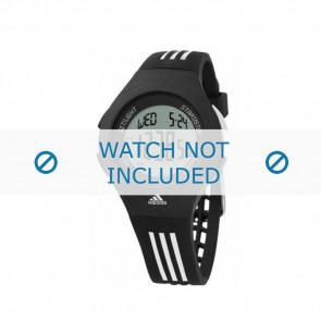 Adidas horlogeband ADP6016 Rubber Zwart 24mm