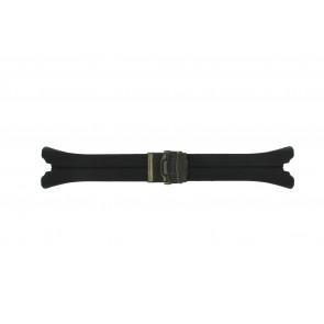 Horlogeband Pulsar YM62-X184 / PF3798X1 / PH042X / PF3797X1 / NX14-X009 / PM7021X1 Rubber Zwart 5mm