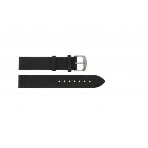 Horlogeband Condor 605R.01 Titan Leder Zwart 14mm