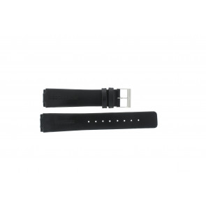 Horlogeband Skagen 433LSLC Leder Zwart 18mm