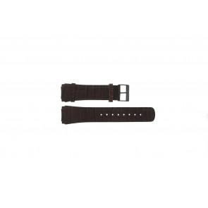 Horlogeband Skagen 856XLDRD Leder Bruin 24mm
