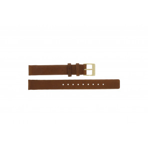 Horlogeband Skagen SKW2147 Leder Bruin 12mm