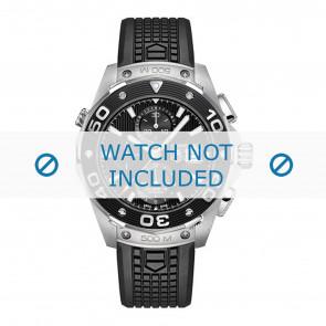 Tag Heuer horlogeband CAJ2180.FT6023 Rubber Zwart