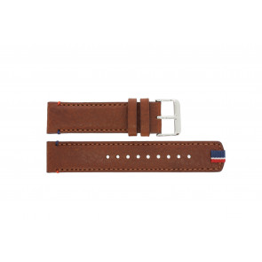 Horlogeband Tommy Hilfiger TH-248-1-14-1685 / TH1791066 / TH679301739 Leder Bruin 22mm