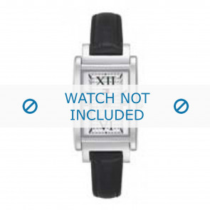 Horlogeband Tommy Hilfiger TH-62-3-14-0748 / 679301005 / 1780810 / 1780811 Leder Zwart 12mm