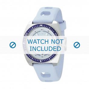 Horlogeband ZO2230 Rubber Lichtblauw 20mm