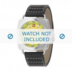 Horlogeband Zodiac ZO2601 Leder Zwart